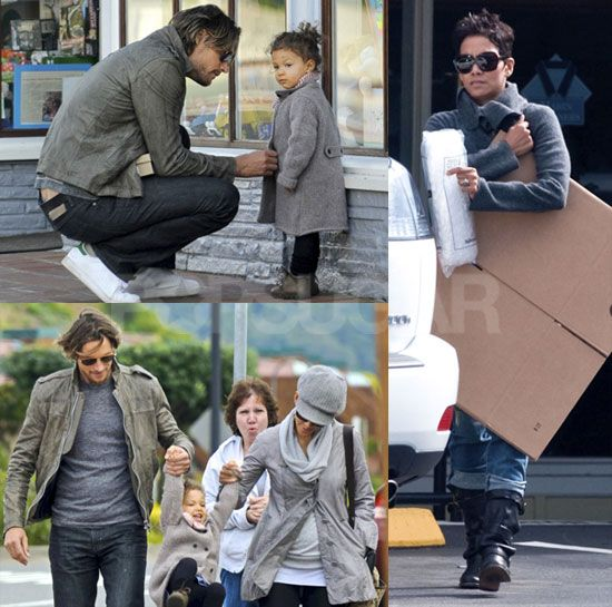 Photos of Halle Berry, Gabriel Aubry, and Nahla in Tiburon, California | POPSUGAR Celebrity