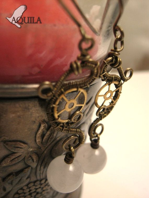 * BLACK FRIDAY SALE 20% off.* Use coupon code: PINFRIDAY in my etsy shop. Venus Princess  rose quartz jewelry  steampunk by HouseofAquila