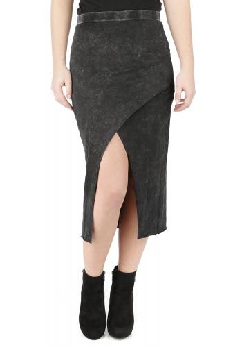 """Gonna aderente """"Wrapped Skirt"""" del brand #Forplay."""