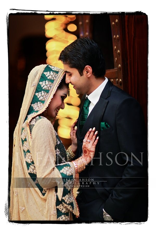 Typical Pakistani wedding shot but I love it!