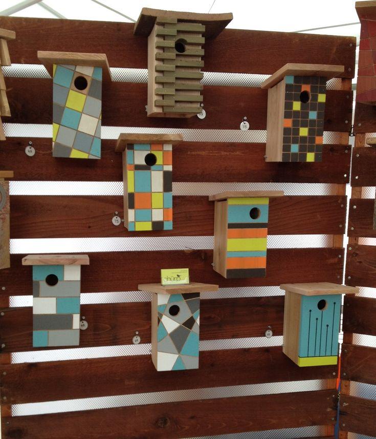 Modern bird house | Alexandra Design Finds