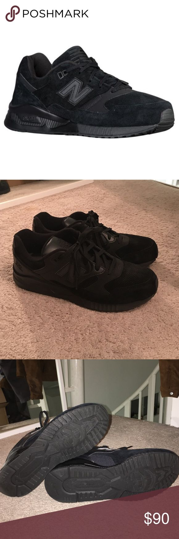 New Balance 530's All black New Balance 530's. LIKE NEW, worn ONCE! New Balance Shoes Sneakers
