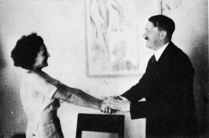 Leni Riefenstahl & Adolf Hitler