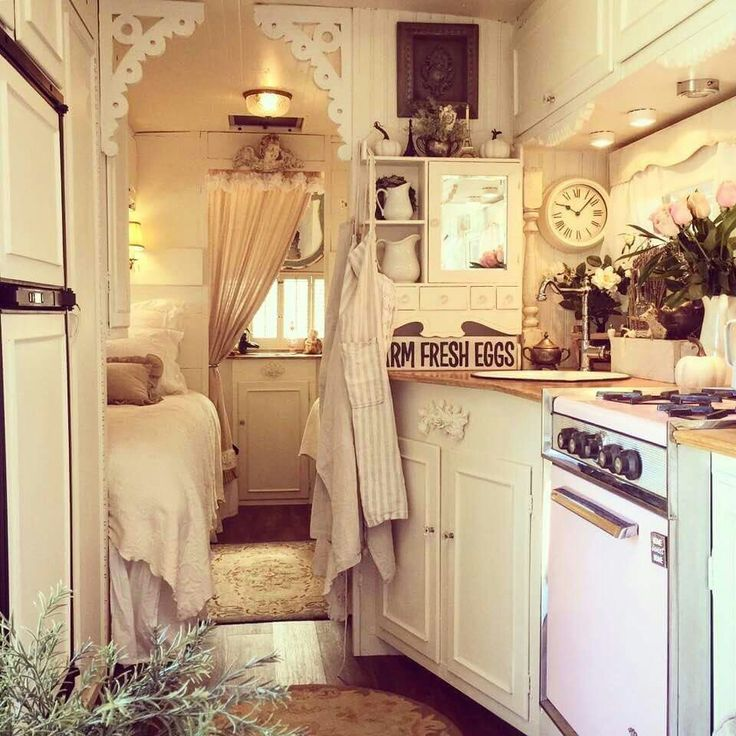 beautiful trailer tiny home. Small vintage trailer received a beautiful update  Photo from Sisters On The Fly 1000 best Tiny houses 1 images on Pinterest house
