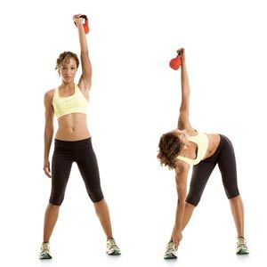 Great Kettleball workout that works your whole body :)Totally Body, Kettlebell Workout, Love Handles, Health Magazine, Body Tone, Kettle Belle, Kettleball Workout, Belle Workout, Kettle Ball Workout