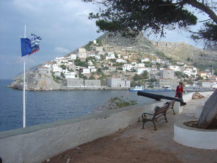 Hydra Island Port, Greece