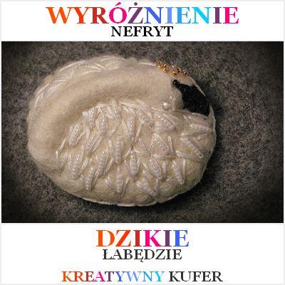 Wyniki Wyzwania Tematycznego - Baśń: Dzikie Łabędzie | Kreatywny Kufer http://nefryt-studio.blogspot.com/