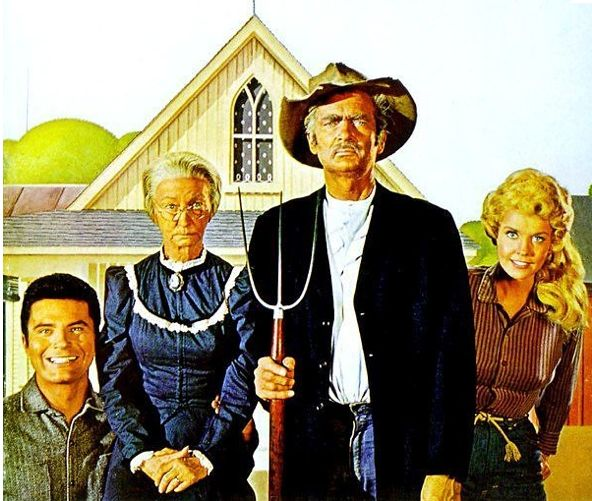 American Gothic | Gothic Parodies based on famous People or Characters - American Gothic ...