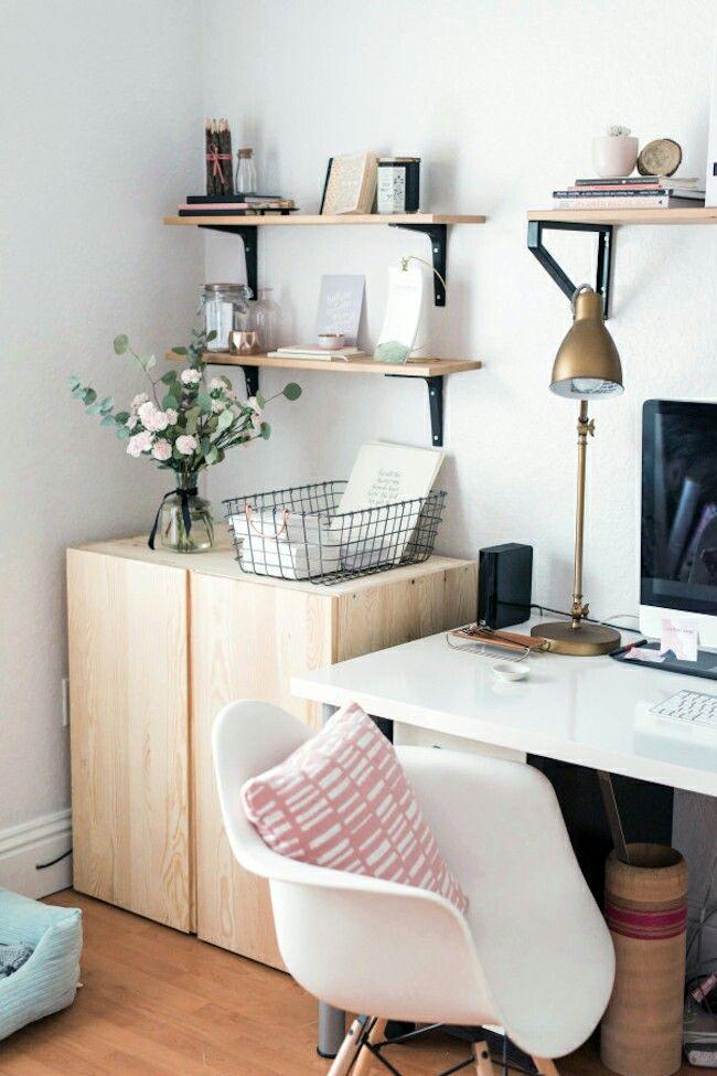 45 besten home office ideas bilder auf pinterest arbeitsbereiche schreibtische und b ros. Black Bedroom Furniture Sets. Home Design Ideas