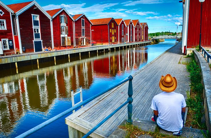 A cowboy in Hudiksvall by David Ooms on 500px