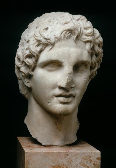 The Young Alexander the Great, 3rd century BC _ Acropolis Archaeological Museum, Athens