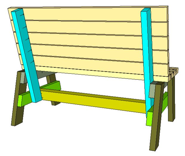 How To Build A Comfortable 2×4 Bench And Side Table – Jays Custom Creations