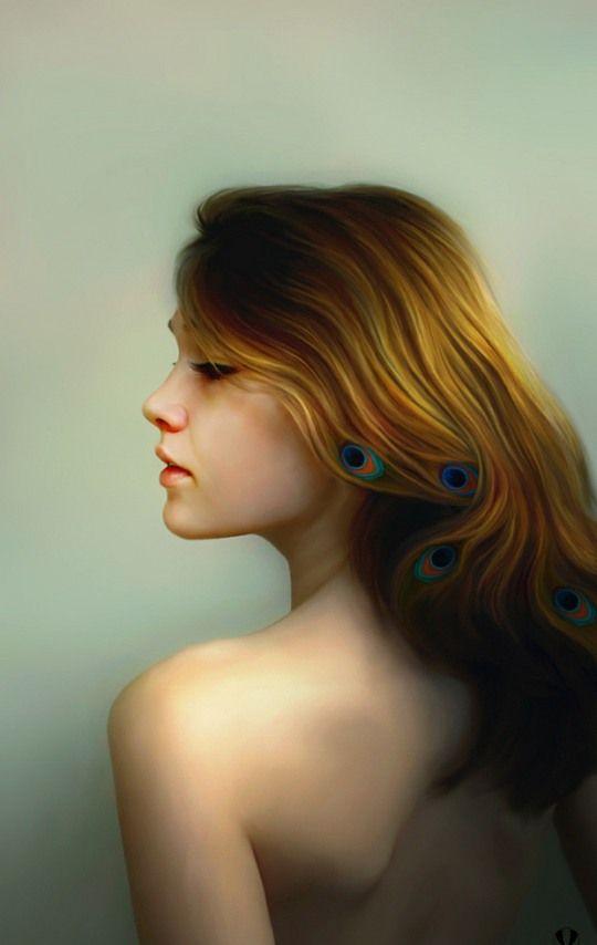 Beautiful Digital Portraits by Igor Grushko