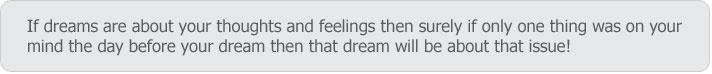 ♥ DREAM DICTIONARY