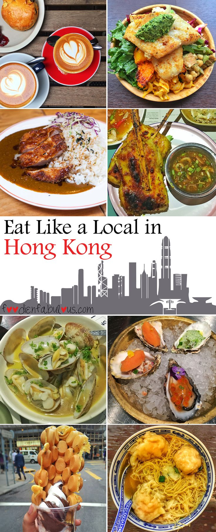 Eating Out In Hong Kong Dishing out some of Hong Kong's best eats - from noodles and dim sums to popular hot spots of some of the best food the city has to offer so you can eat as the locals do. An incredible coffee culture means you'll be fuelled up for all the walking around in this chaotic city.