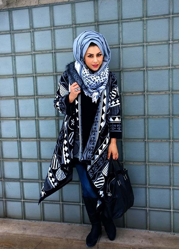Winter Hijab Fashion For 2016 Styles - Styles 7