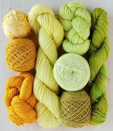 Purl Soho: Color Combos, Decoration Idea, Citrus Color, Diy'S Gifts, Limes, Yarns Color, Diy'S Fashion, Crafts Supplies, Fall Color