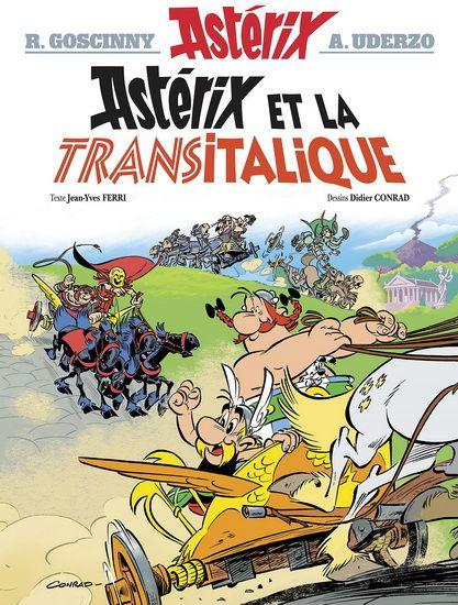 Astérix et la Transitalique #37 - JEAN-YVES FERRI - DIDIER CONRAD