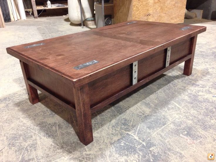 Hidden Gun Cabinet Coffee Table Plans Woodworking Projects Plans