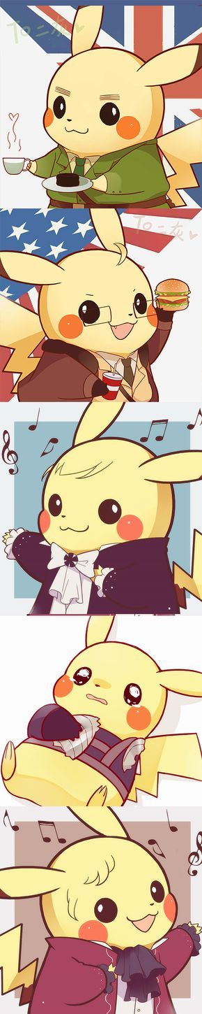 Is it a Florent Mothe and Mikele Lonconte Pikachu ?!