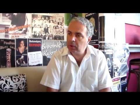 Συνομιλώντας με τον Νίκο Λυγερό στον 104.4fm.gr