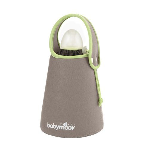 Calentador de biberones de diseño de color beige de Babymoov