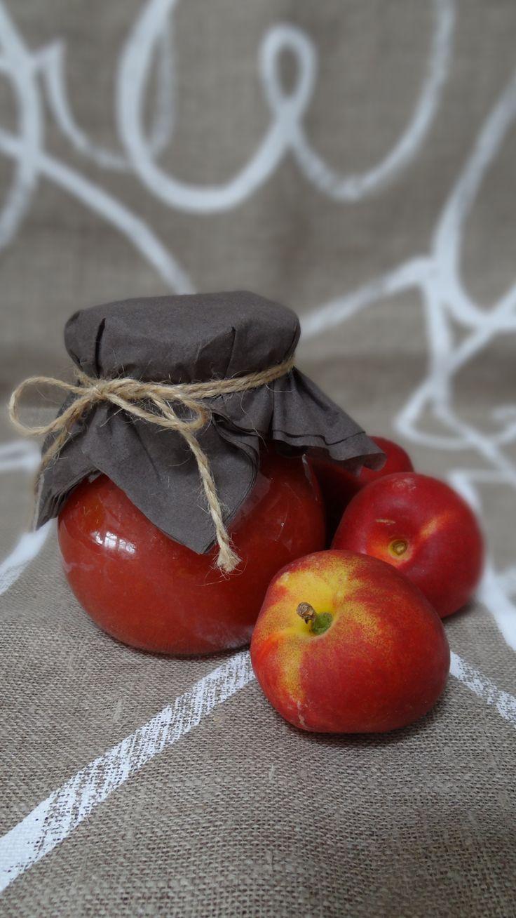 nektarinková marmeláda