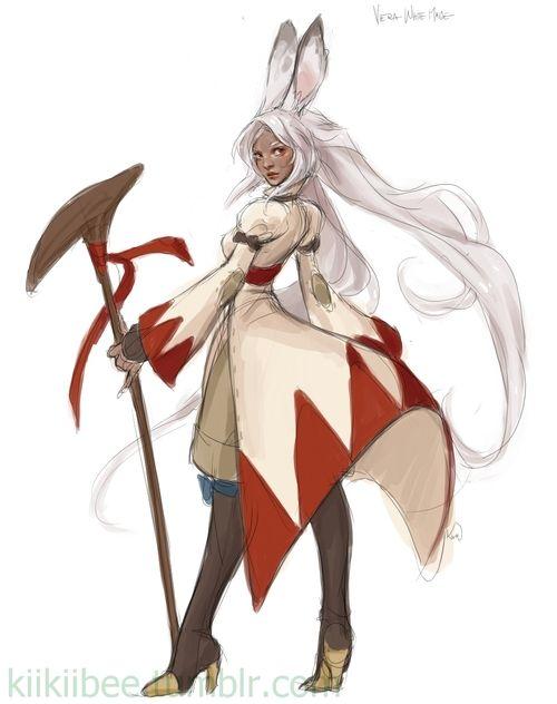 Fran white mage
