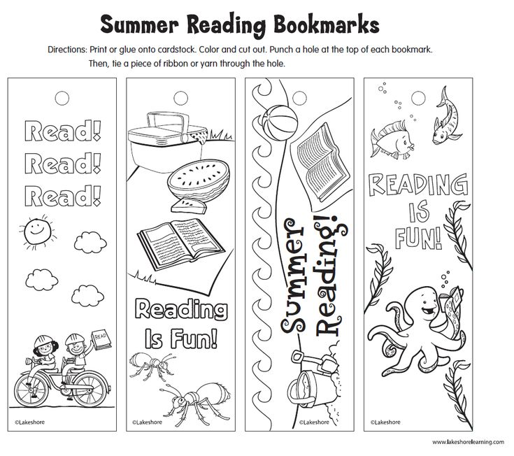 how to make easy bookmarks summer