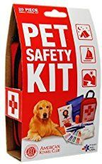 Dog first aid kit or pet first aid kit. Tips and products for your plans to travel with your dog! These are some dog accessories and dog essentials for hiking, camping, or road trips with pets!