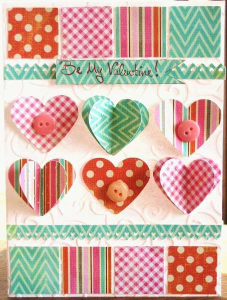 Tarjeta: Be My Valentine