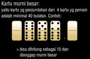 Disini misalnya rezim dimana mencapai tujuan yang diindikasikan dalam bagian 1 dari Gambling Act dan dibawahnya yang dioperasikan oleh rezim permainan poker online indonesia Inggris....Read More