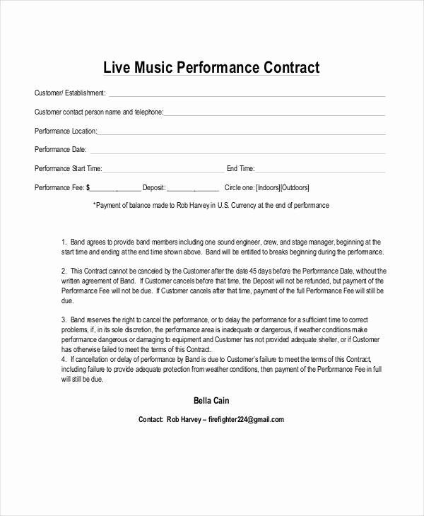 Video Editing Contract Template In 2020 Contract Template