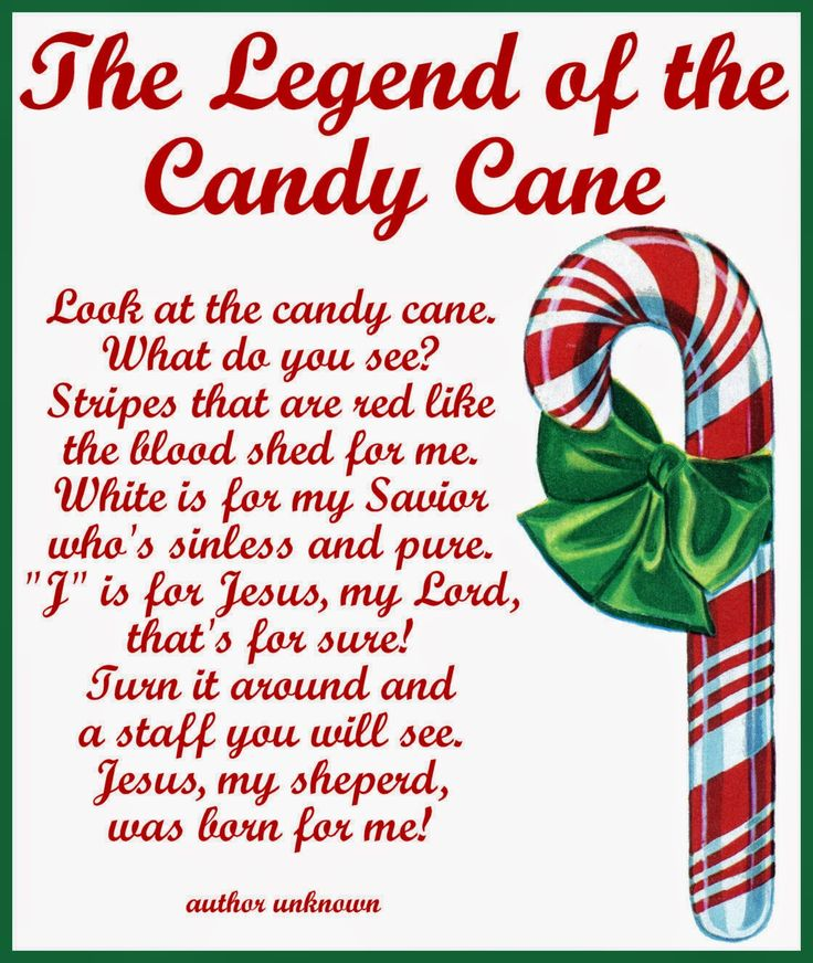 Legend Of The Christmas Tree Poem: 1000+ Images About . ⊱╮Candy Cane Dreams On Pinterest