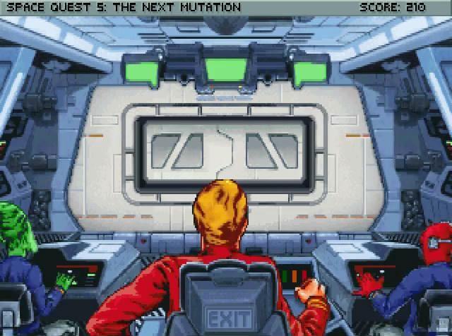Space Quest 5: The Next Mutation / Космический Квест 5: Новая Мутация (рус). Все начинается с молодости Роджера Вилко, когда он был ещё курсантом в космической академии Старкона. Хоть он и не был прилежным учеником, под нашим управлением он сдаст экзамены. Вас ждёт вся романтика студенческой жизни космонавта. Уже после обучения, став капитаном,
