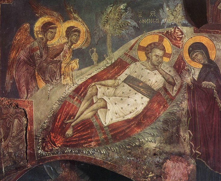 """Icon of Jesus Christ """"O Anapeson"""" ( source )      Hymn II on the Nativity of Christ, by St. Ephraim the Syrian   Blessed be that Child..."""
