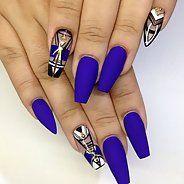 Изысканный маникюр на длинные ногти - Дизайн ногтей (84 фото)