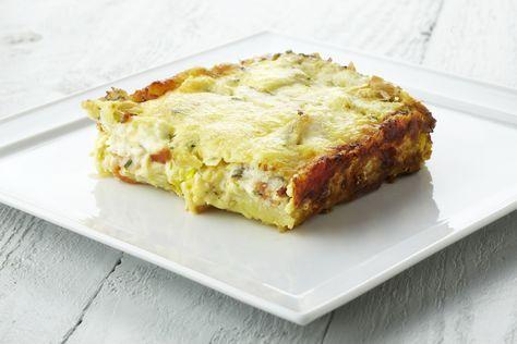 Een overheerlijke ovenschotel met aardappelen, prei en pladijs, die maak je met dit recept. Smakelijk!