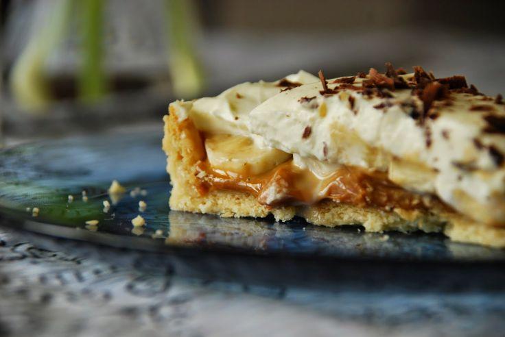 Kunst & Koffie: Recept: banoffee pie (banaan-toffee taart)