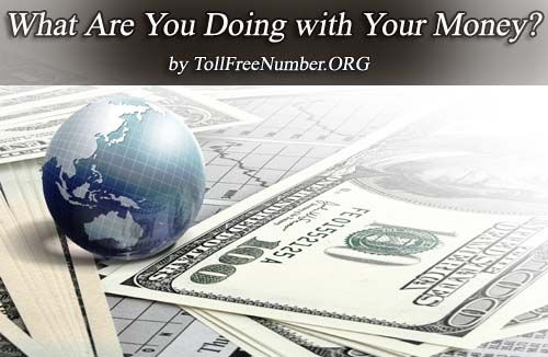 What Are You Doing With Your #Money?