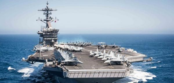 The Theodore Roosevelt carrier strike group has departed for its Composite Training Unit Exercise in anticipation of its deployment later…