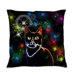 Star Cat Everyday Pillow