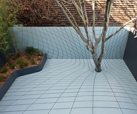 surrealist outdoor design