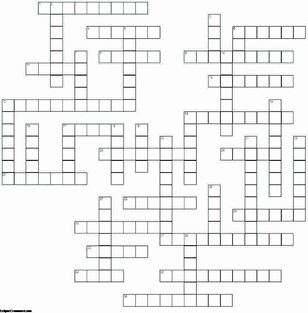 Blank Crossword Puzzle Maker In 2020 Crossword Puzzle Maker