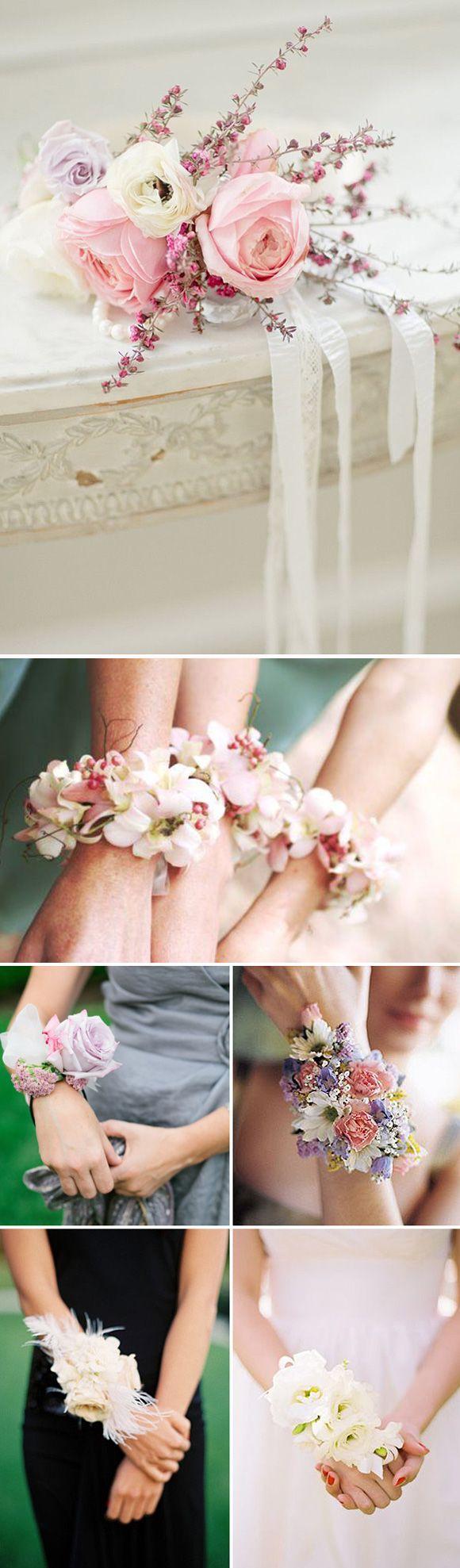 Ramilletes de flores en las bodas