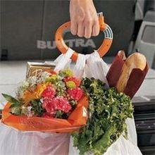 En temporada de vacaciones de compras práctico accesorios ganchos para bolsas ahorro de energía soporte de la bolsa(China (Mainland))