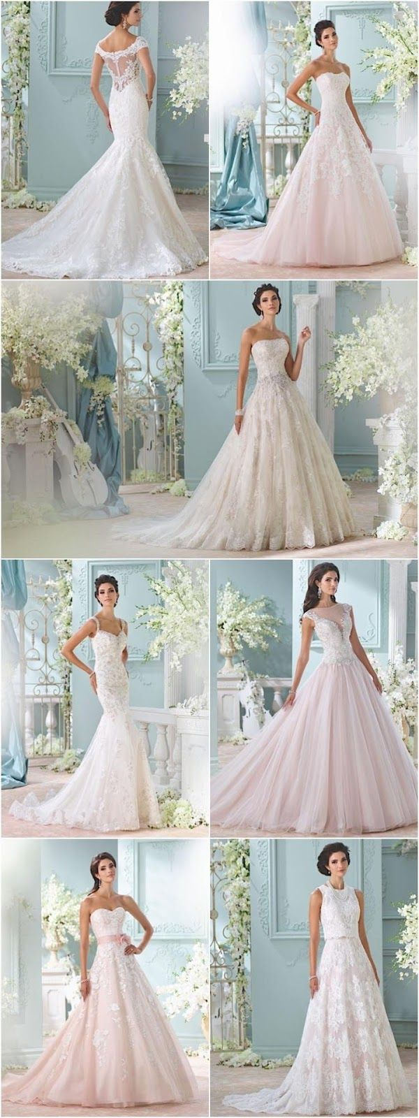 25 The Most Gorgeous Wedding Dresses                                                           Sophisticated, chic, elegant, a...