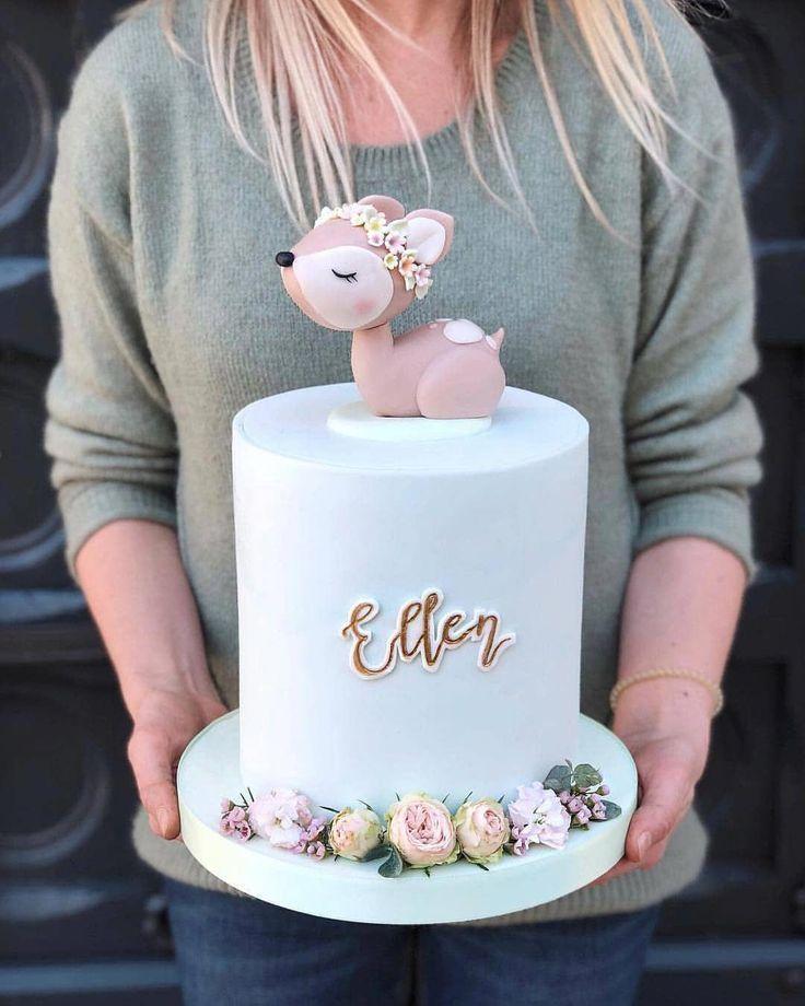 Adorable birthday cake #bakingcupcakes – birtday c…