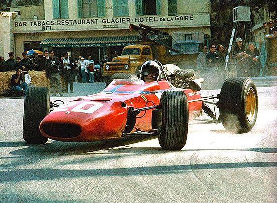 Chris Amon - Ferrari 312/F1 1967 Monaco GP