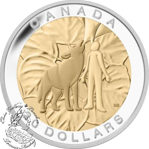Canada: 2014 $20 The Seven Sacred Teachings: Humility Gold Plated Silver Coin - Coin Gallery London Store